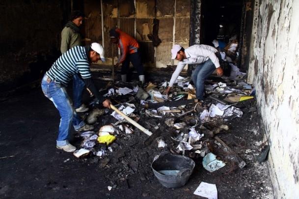 Ezher'de darbe karşıtlarına polis müdahalesi 7
