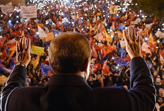 Başbakan Erdoğan'a İzmir'de dev karşılama 1