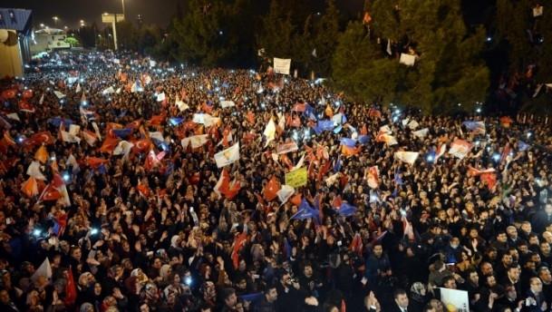 Başbakan Erdoğan'a İzmir'de dev karşılama 11