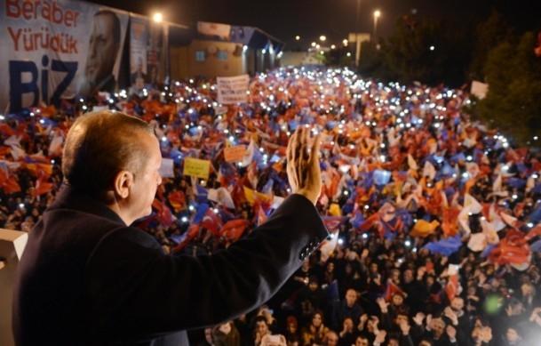 Başbakan Erdoğan'a İzmir'de dev karşılama 12
