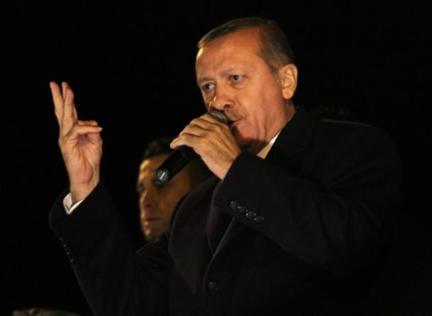 Başbakan Erdoğan'a İzmir'de dev karşılama 13
