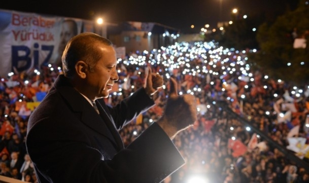 Başbakan Erdoğan'a İzmir'de dev karşılama 14