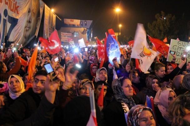 Başbakan Erdoğan'a İzmir'de dev karşılama 15