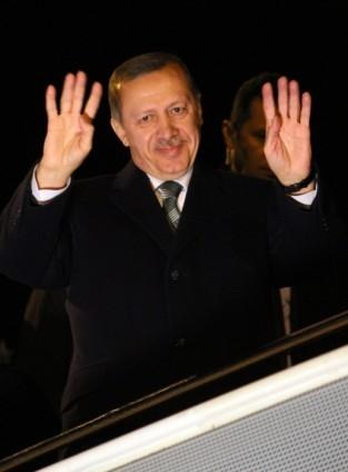 Başbakan Erdoğan'a İzmir'de dev karşılama 16