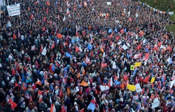 Başbakan Erdoğan'a İzmir'de dev karşılama 19