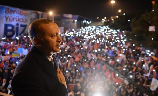 Başbakan Erdoğan'a İzmir'de dev karşılama 3
