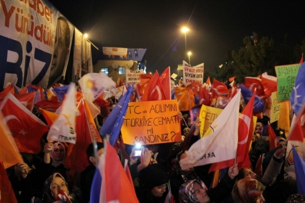 Başbakan Erdoğan'a İzmir'de dev karşılama 5