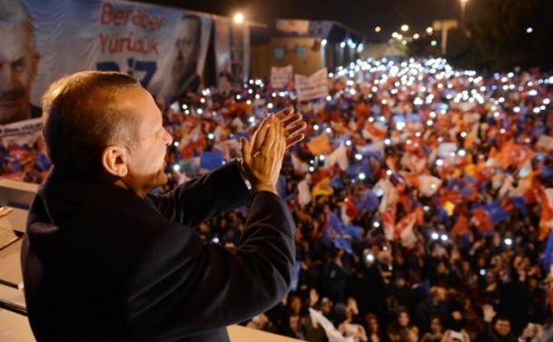 Başbakan Erdoğan'a İzmir'de dev karşılama 7