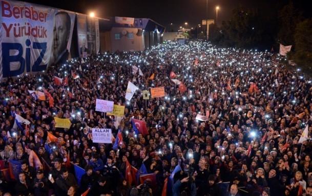 Başbakan Erdoğan'a İzmir'de dev karşılama 8
