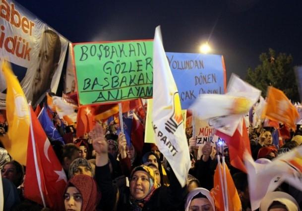 Başbakan Erdoğan'a İzmir'de dev karşılama 9