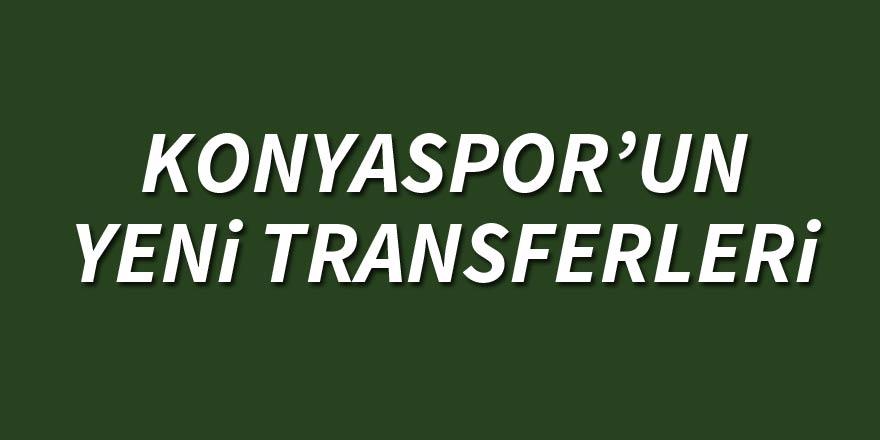 İşte Konyaspor'un transfer dosyası 1