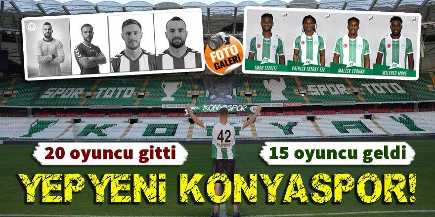 İşte Konyaspor'un transfer dosyası