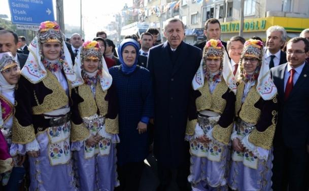 Başbakan Erdoğan Manisa'da 10