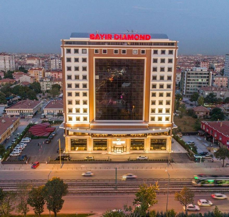 Konya'nın ilk yerli ve 5 yıldızlı oteli: Bayır Diamond 1
