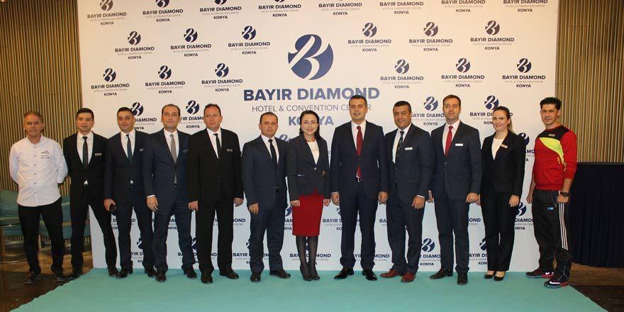 Konya'nın ilk yerli ve 5 yıldızlı oteli: Bayır Diamond