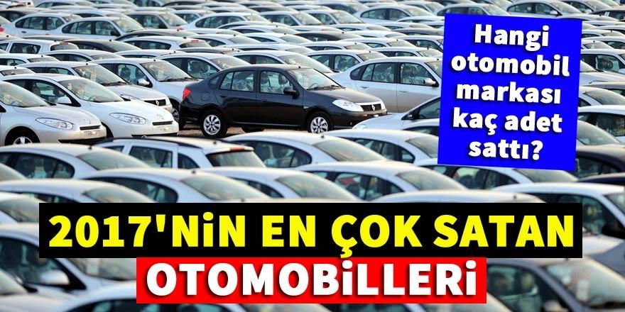 2017'nin en çok satan otomobilleri 1
