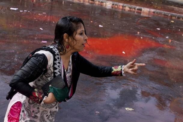 Bangladeş'te hükümet karşıtı gösteriler sürüyor 12