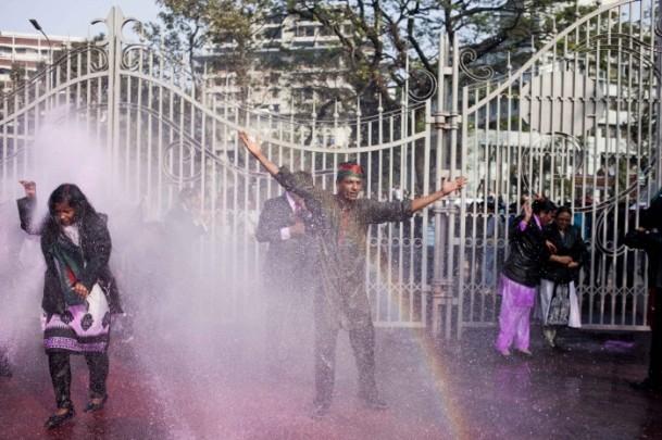 Bangladeş'te hükümet karşıtı gösteriler sürüyor 6
