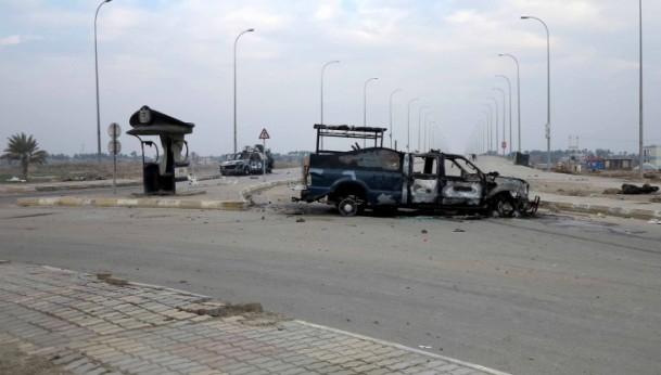 Irak'ta güvenlik güçleriyle aşiretler arasında çatışma 11