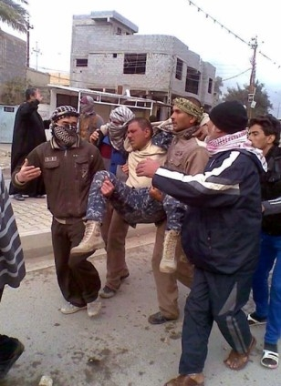 Irak'ta güvenlik güçleriyle aşiretler arasında çatışma 2