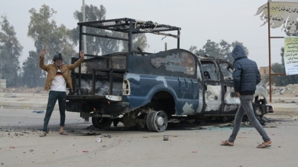 Irak'ta güvenlik güçleriyle aşiretler arasında çatışma 3