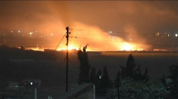 Afrin'e giden 40 araçlık terör konvoyu vuruldu! 1