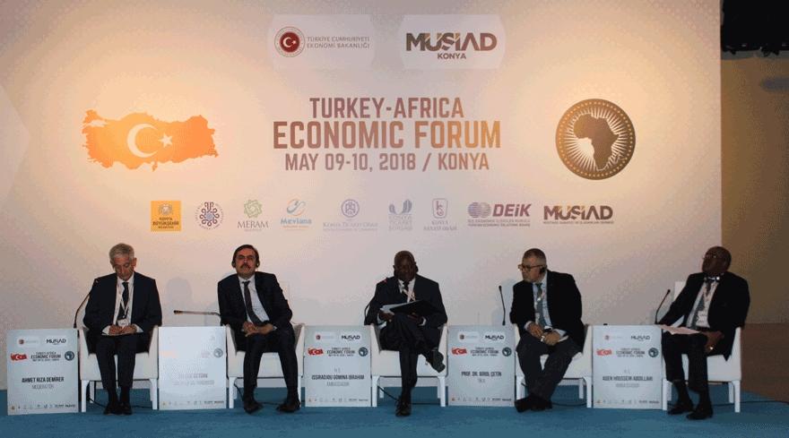 Konya'da Türkiye-Afrika Ekonomi Forumu 1