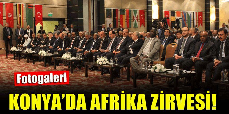 Konya'da Türkiye-Afrika Ekonomi Forumu