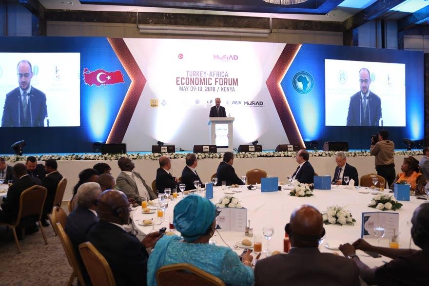 Türkiye-Afrika Ekonomi Forumu'nda gala yapıldı 1