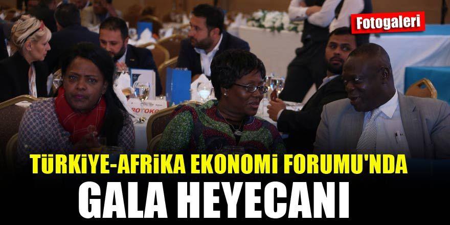 Türkiye-Afrika Ekonomi Forumu'nda gala yapıldı