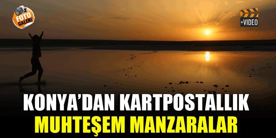Konya'dan kartpostallık muhteşem manzaralar