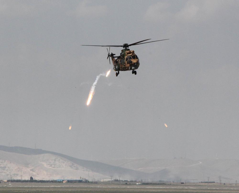 Konya'da nefes kesen askeri tatbikat 1