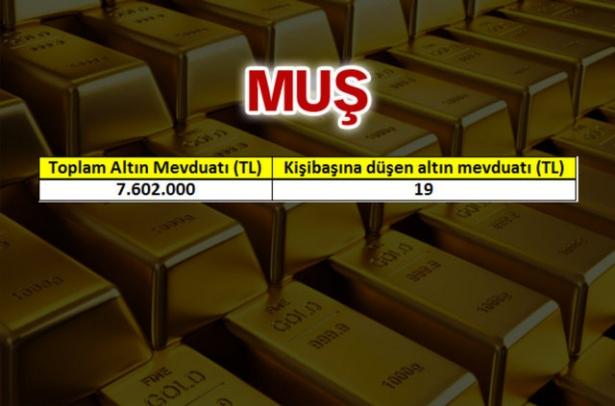 İşte, Türkiye'nin altın zengini illeri! 4