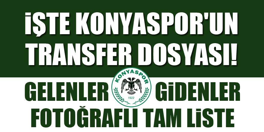 Atiker Konyaspor'un transfer dosyası | Gelenler - Gidenler 1