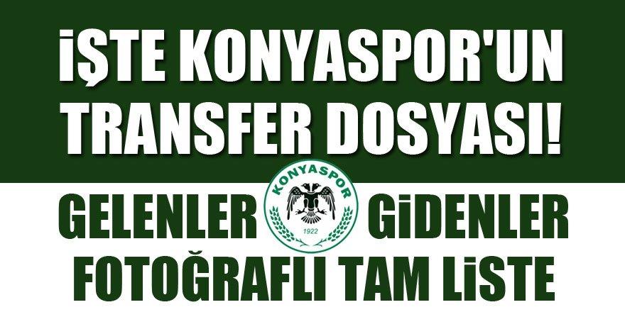 Atiker Konyaspor'un transfer dosyası | Gelenler - Gidenler