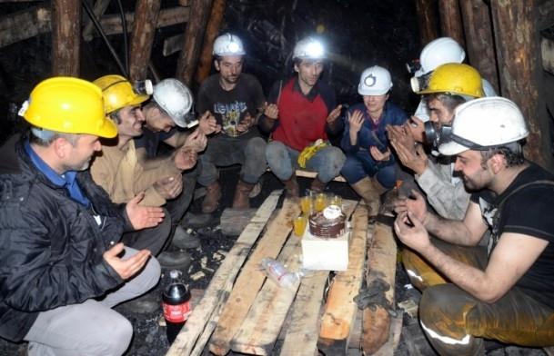 Maden ocağında yeni yıl 1