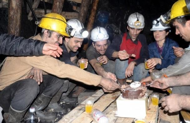 Maden ocağında yeni yıl 7
