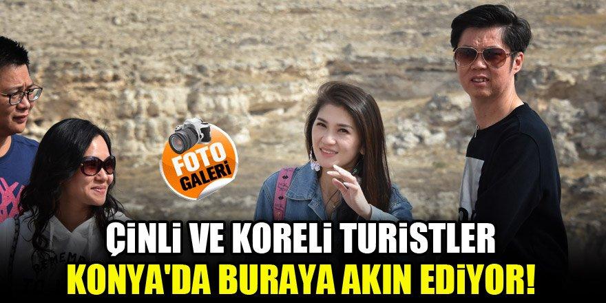 Çinli ve Koreli turistler Konya'da buraya akın ediyor!