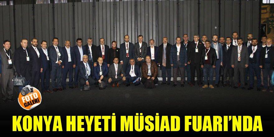 Konya heyeti MÜSİAD 17. EXPO Fuarı'nda