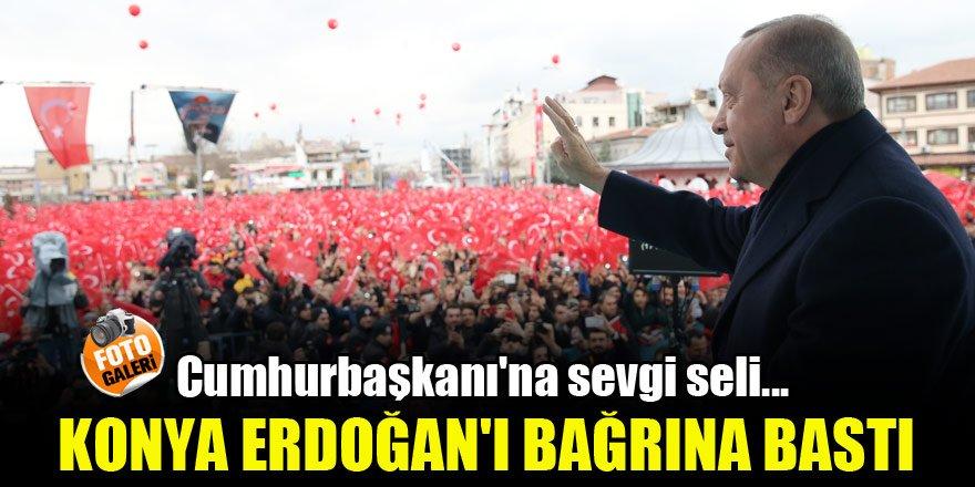 Cumhurbaşkanı Erdoğan'a sevgi seli!