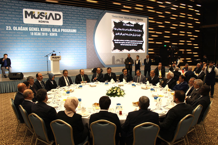 MÜSİAD Konya Şubesi'nde genel kurul heyecanı 1