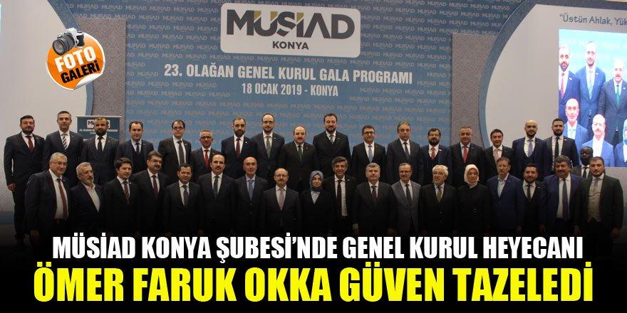 MÜSİAD Konya Şubesi'nde genel kurul heyecanı