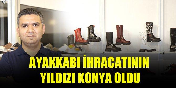 Ayakkabı ihracatının yıldızı Konya