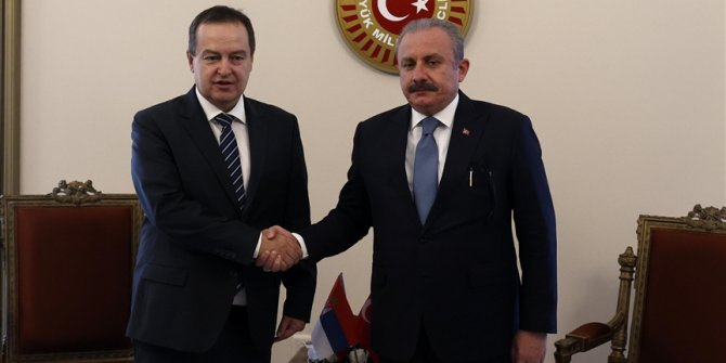 Ankara: Sastanak predsjednika parlamenata Turske i Srbije, Sentopa i Dačića