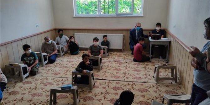 Kur'an Kursları  eğitime başladı