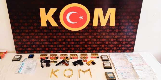 Konya'da suç örgütüne yönelik operasyon: 13 gözaltı