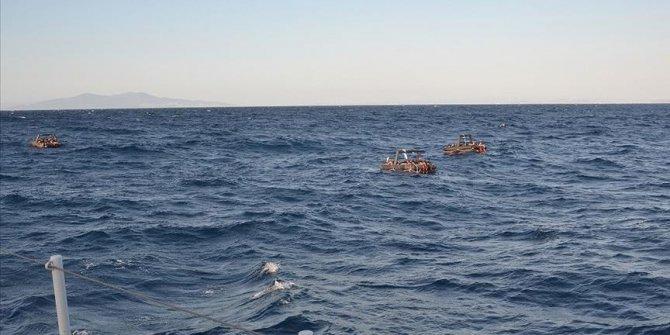 Turkey rescues 19 asylum seekers pushed back by Greece
