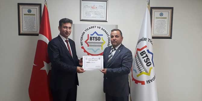 Beyşehir TSO'dan eğitime destek