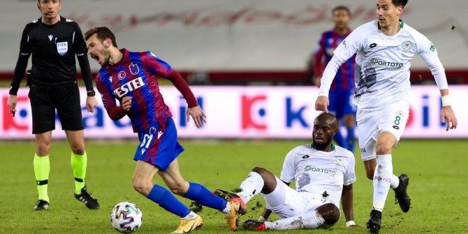 Konyaspor'un maç saati değişikliği talebini Trabzonspor kabul etmedi