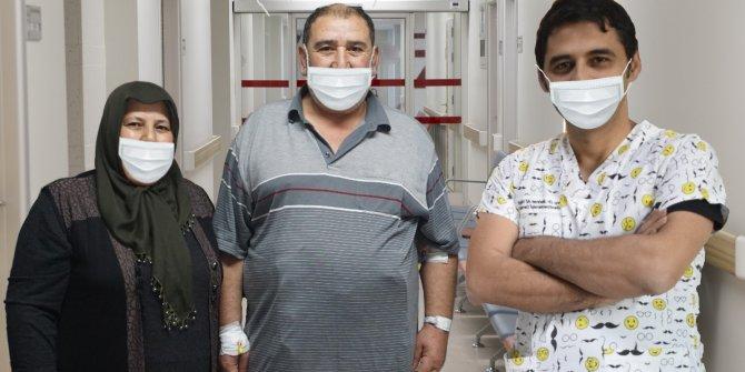 8 yıllık diyabetten ameliyatla kurtuldu
